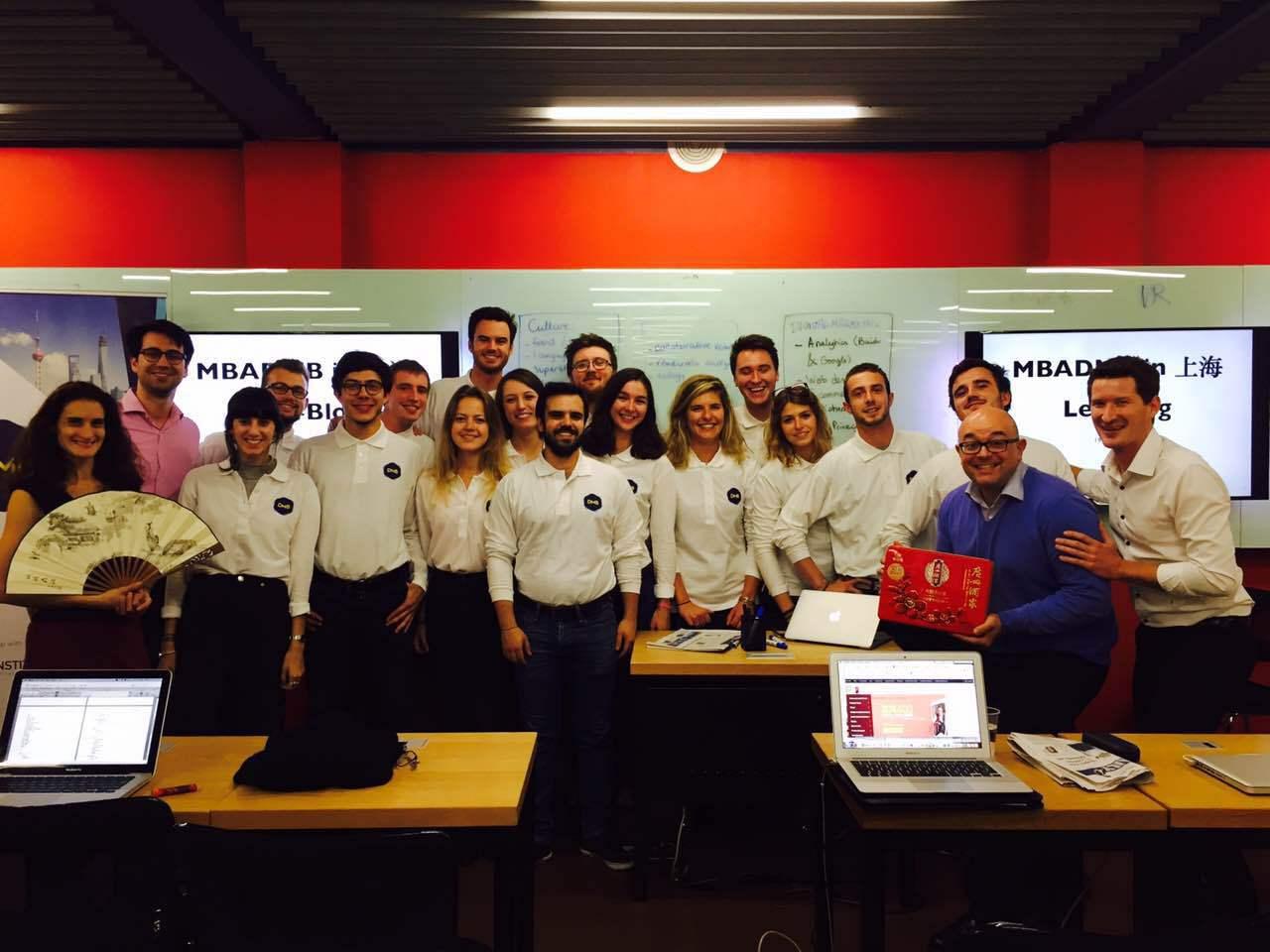 Blog du MBA DMB Shanghai, jour 1