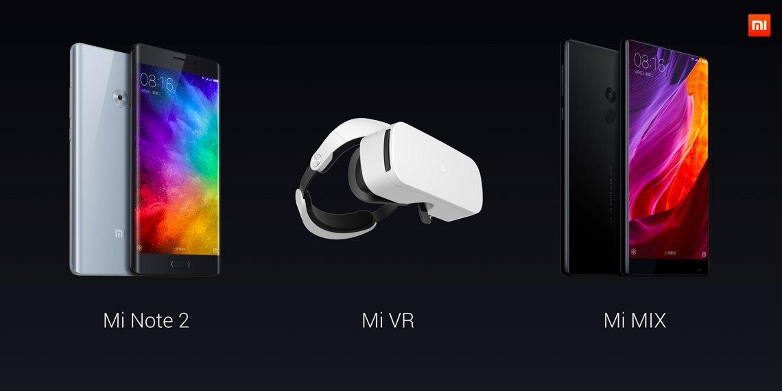 Les nouveaux produits de Xiaomi