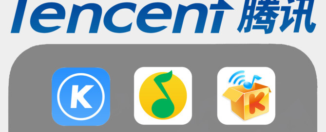 Tencent, KuGuo, QQMusic, KuWo