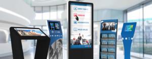 Interactive display solution O2O