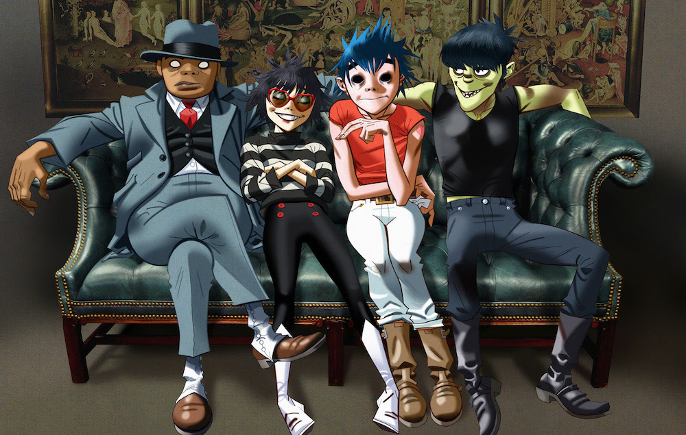 Virtual Reality + Virtual Band = ♥ Gorillaz's new success