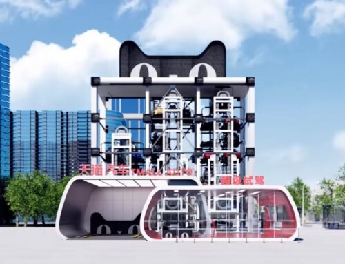Retail revolution: car vending machines in China