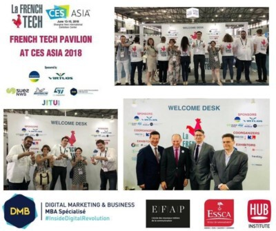 Student volunteers from ESSCA in CES Asia 2018, Shanghai