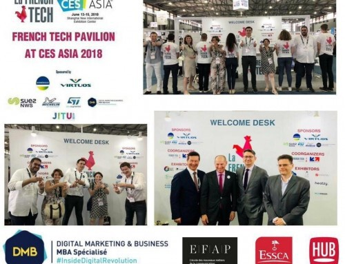 The ESSCA – EFAP DMB at CES Asia 2018