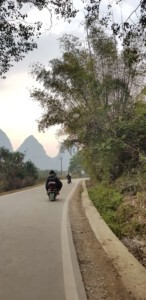 Fun trip in china scooter aroung yangshuo