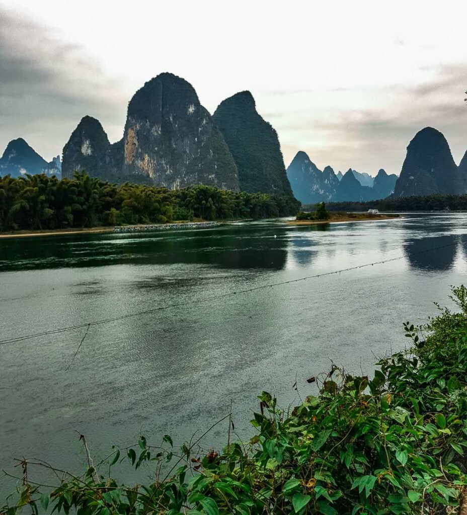 Li river's view as on the 20 yuans bill