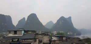 Little town of China Yangshuo