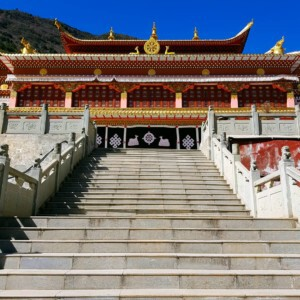 The place to go in china to discover the real monastery
