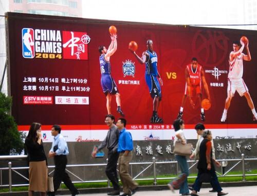 L'impact de la NBA en Chine