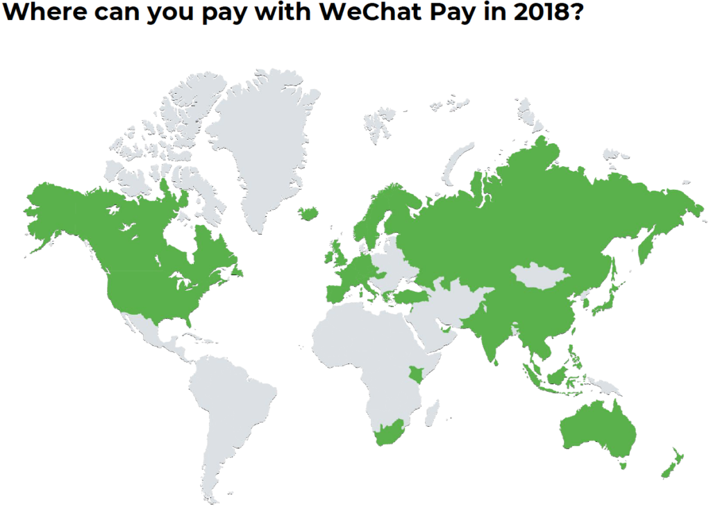 WeChat Pay 2018 mapping