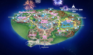 Plan du parc Disney Shanghai Resort