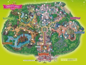 Plan du parc de Disneyland Paris
