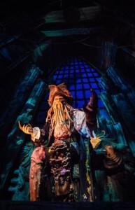 Animatronic du personnage de Davy Jones dans Pirates des Caraïbes