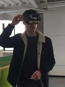 Startign a company in shanghai: augmented realty helmet