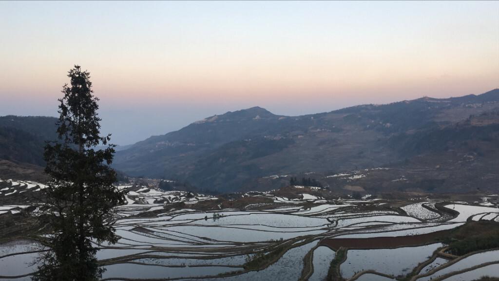 Rice fields view hotel YuanYang