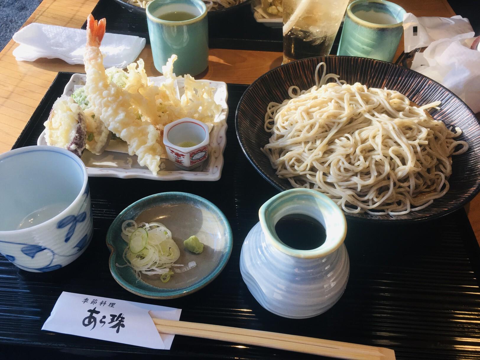 What to eat in Japan? Soba Noddles Tempura Vegetables