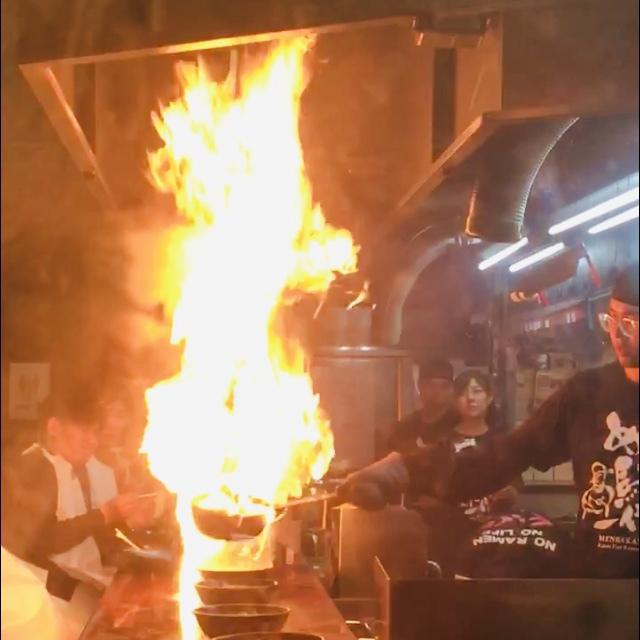 What to eat in Japan? Membaka Fire Ramen